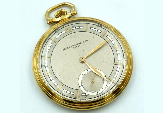 Patek Philippe & Cie Geneve 18k Gold Pocket Watch